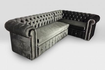 Диван Честер Угловой со спальным местом