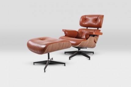 Кресло+пуф K-37